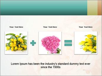 Cream Roses PowerPoint Template - Slide 22