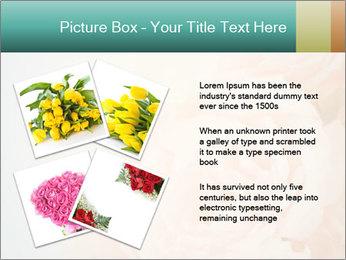 Cream Roses PowerPoint Template - Slide 23