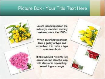 Cream Roses PowerPoint Template - Slide 24