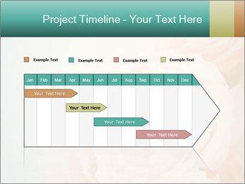 Cream Roses PowerPoint Template - Slide 25