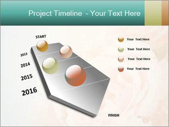 Cream Roses PowerPoint Template - Slide 26