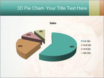Cream Roses PowerPoint Template - Slide 35