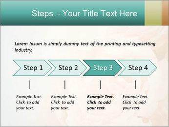 Cream Roses PowerPoint Template - Slide 4