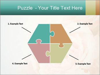 Cream Roses PowerPoint Template - Slide 40