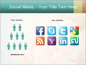 Cream Roses PowerPoint Template - Slide 5