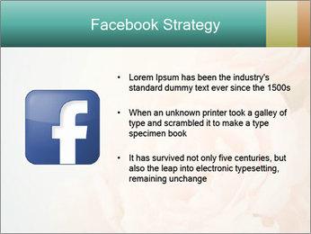 Cream Roses PowerPoint Template - Slide 6