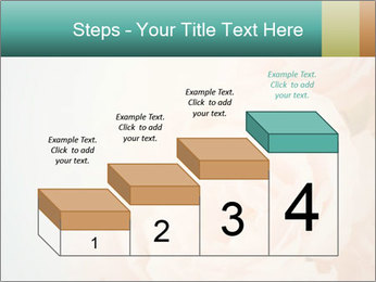 Cream Roses PowerPoint Template - Slide 64