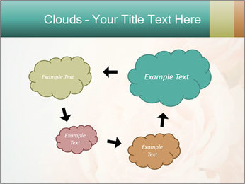 Cream Roses PowerPoint Template - Slide 72