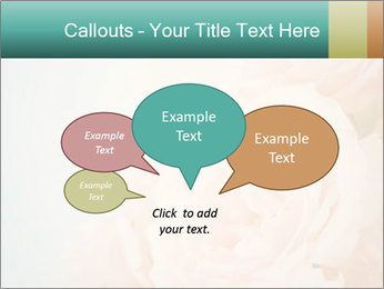Cream Roses PowerPoint Template - Slide 73