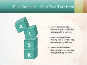 Cream Roses PowerPoint Template - Slide 81