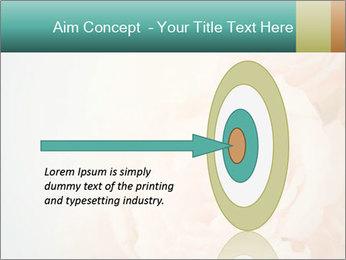 Cream Roses PowerPoint Template - Slide 83