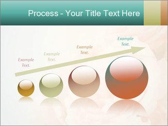 Cream Roses PowerPoint Template - Slide 87