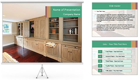 Antique Furniture PowerPoint Template