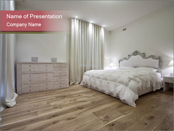 Bedroom Interior PowerPoint Template