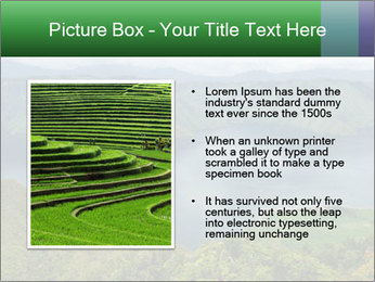 View from the Samosir island PowerPoint Templates - Slide 13