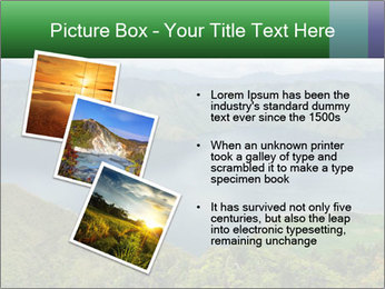 View from the Samosir island PowerPoint Template - Slide 17