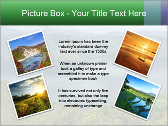 View from the Samosir island PowerPoint Templates - Slide 24
