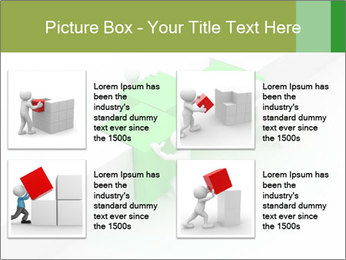Men with boxes PowerPoint Template - Slide 14