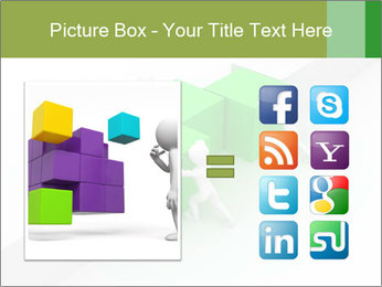 Men with boxes PowerPoint Template - Slide 21