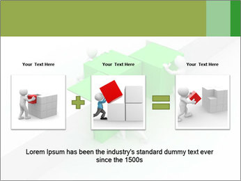 Men with boxes PowerPoint Template - Slide 22