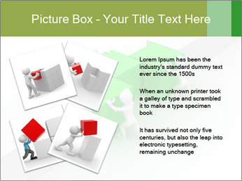 Men with boxes PowerPoint Template - Slide 23
