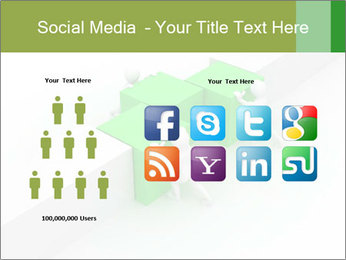 Men with boxes PowerPoint Template - Slide 5