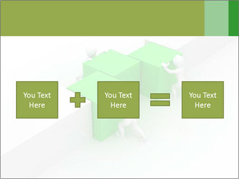 Men with boxes PowerPoint Template - Slide 95