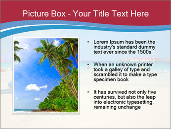 View of thailand beach PowerPoint Template - Slide 13