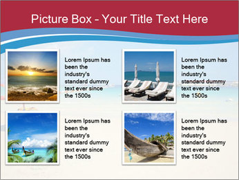 View of thailand beach PowerPoint Template - Slide 14