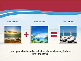 View of thailand beach PowerPoint Template - Slide 22