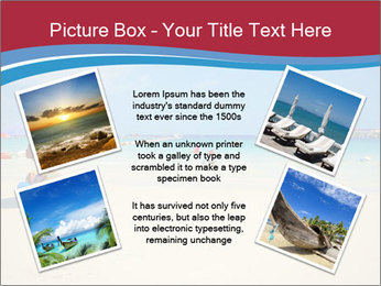 View of thailand beach PowerPoint Template - Slide 24