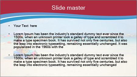 View of thailand beach PowerPoint Template - Slide 2