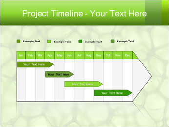 Cell green background PowerPoint Template - Slide 25