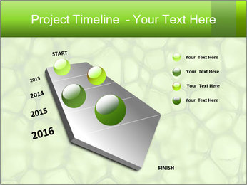 Cell green background PowerPoint Template - Slide 26