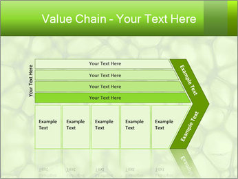 Cell green background PowerPoint Template - Slide 27