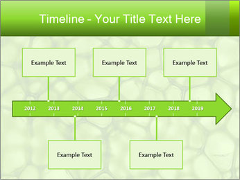 Cell green background PowerPoint Template - Slide 28