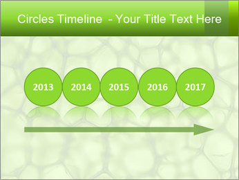 Cell green background PowerPoint Template - Slide 29