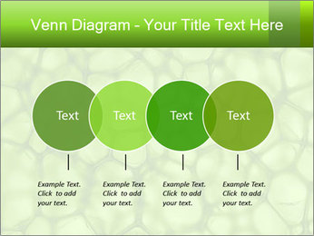 Cell green background PowerPoint Template - Slide 32
