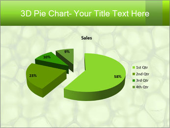 Cell green background PowerPoint Template - Slide 35