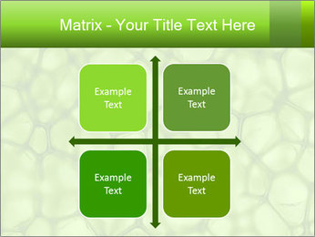 Cell green background PowerPoint Template - Slide 37