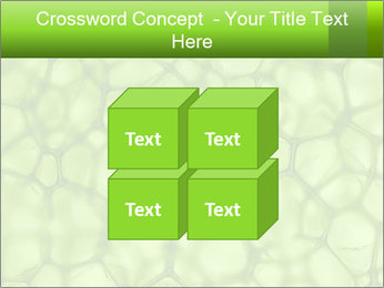 Cell green background PowerPoint Template - Slide 39