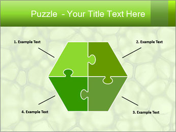 Cell green background PowerPoint Template - Slide 40