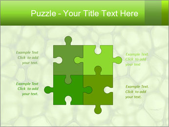 Cell green background PowerPoint Template - Slide 43