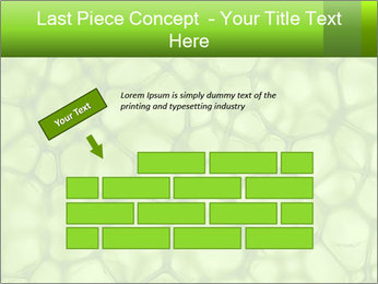 Cell green background PowerPoint Template - Slide 46