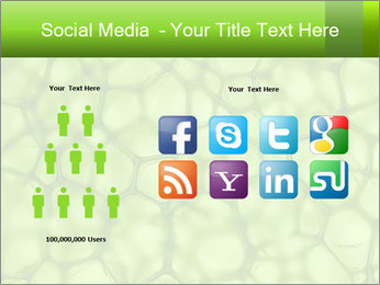 Cell green background PowerPoint Template - Slide 5