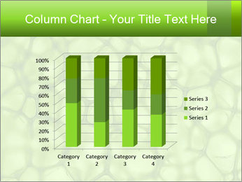 Cell green background PowerPoint Template - Slide 50