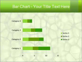 Cell green background PowerPoint Template - Slide 52