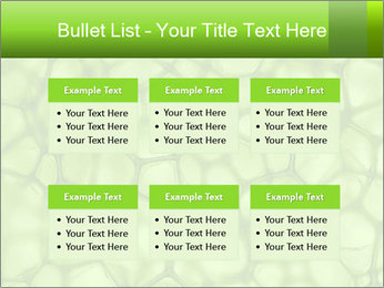 Cell green background PowerPoint Template - Slide 56