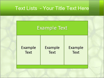 Cell green background PowerPoint Template - Slide 59