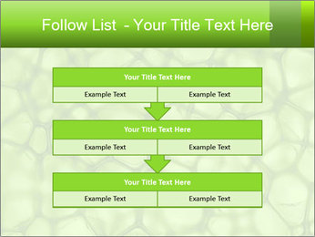 Cell green background PowerPoint Template - Slide 60